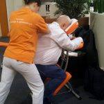 Gesundheitstag - Nackenmassage