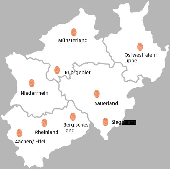 Unsere Einsätze in Nord Rhein Westfalen - Cocoon Wellness